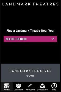 Landmark Theatres App poster