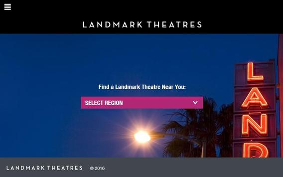 Landmark Theatres App apk screenshot