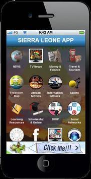 Sierra Leone App poster