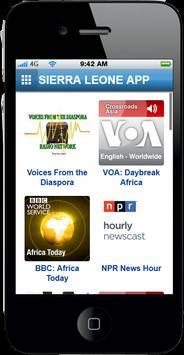 Sierra Leone App apk screenshot