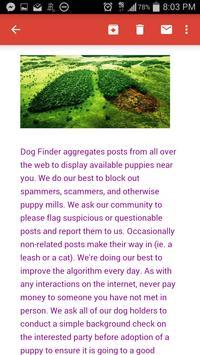 Dog Finder - Adopt A Puppy apk screenshot