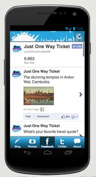 Just One Way Ticket apk screenshot