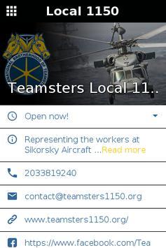 Teamsters Local 1150 screenshot 1