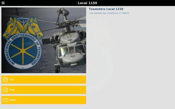 Teamsters Local 1150 screenshot 4