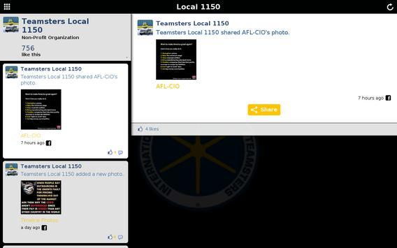 Teamsters Local 1150 screenshot 5
