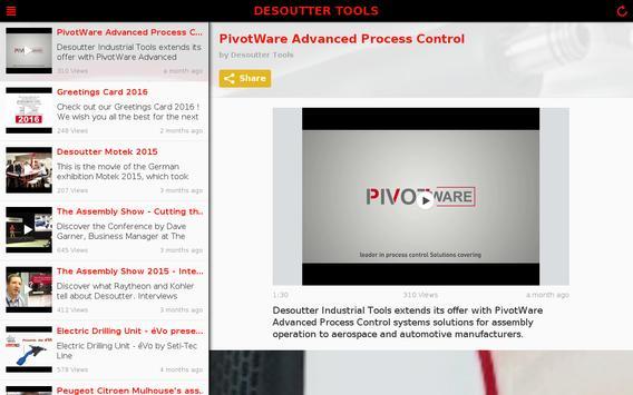Desoutter Industrial Tools apk screenshot