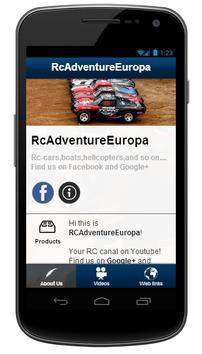 RcAdventureEurope poster