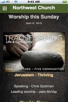 Northwest Church poster