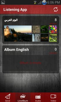 Listening App screenshot 4