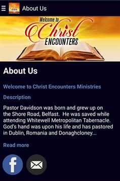 Christ Encounters poster