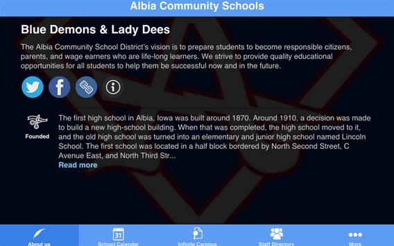 Albia Schools apk screenshot