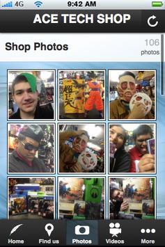 ACE TECH SHOP screenshot 1