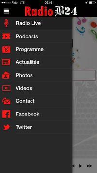 Radio B24 apk screenshot