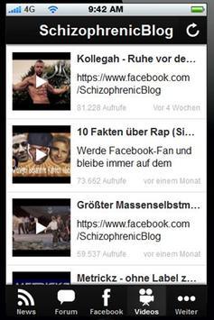 DeutschRap News APP screenshot 1