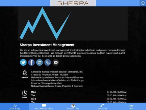 Sherpa Investment Management apk screenshot