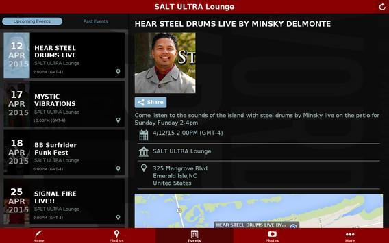 SALT ULTRA Lounge apk screenshot