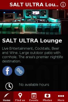 SALT ULTRA Lounge poster