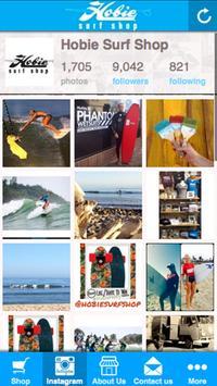 Hobie Surf Shops poster