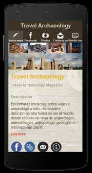 Travel Archaeology poster