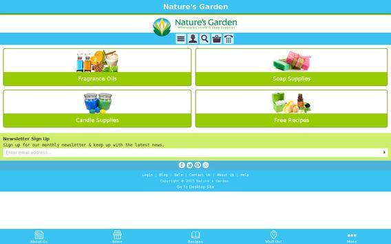 Natures Garden apk screenshot