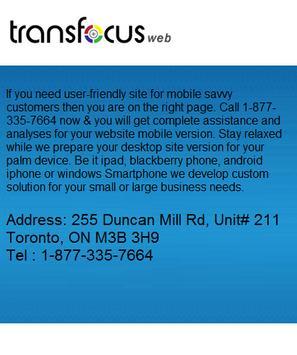 TransfocusWeb.com apk screenshot