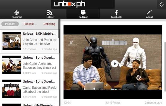 Unbox.PH apk screenshot