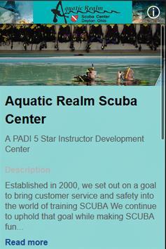 Aquatic Realm Scuba Center screenshot 1