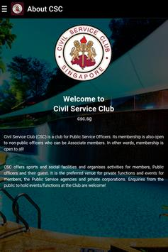 Civil Service Club SG for Android - APK Download