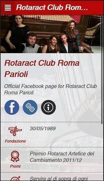 Rotaract Club Roma Parioli poster