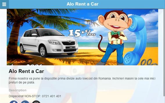 Alo Rent a Car apk screenshot