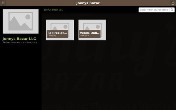 Jonnys Bazar Redirecionamento apk screenshot