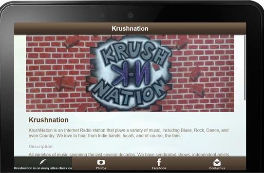 Krushnation Internet Radio screenshot 2