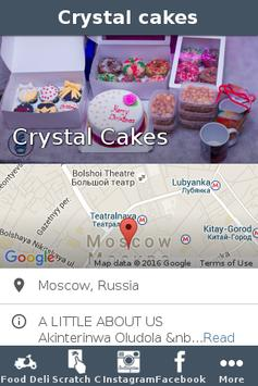 Crystal cakes poster