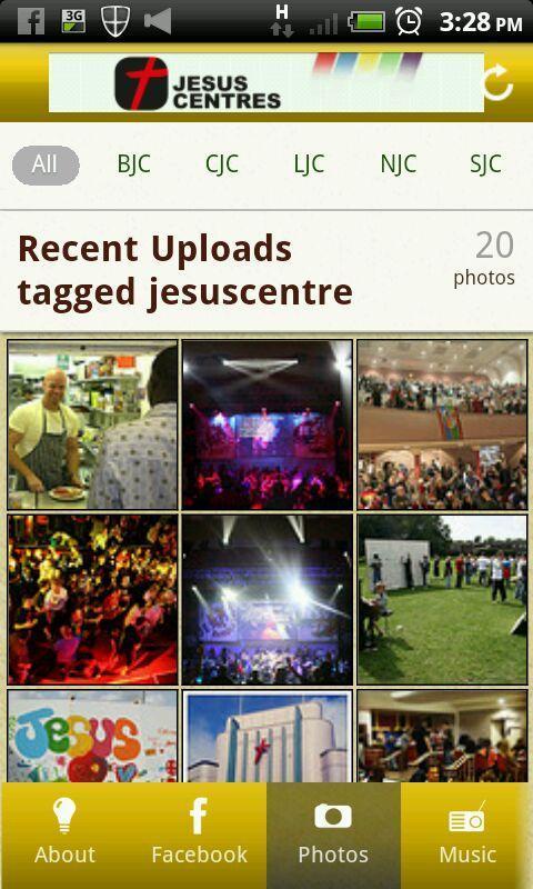 Jesus Centers poster