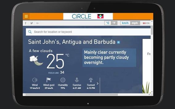 CIRCLE - Antigua & Barbuda (268) apk screenshot