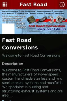 Fast Road Conversions apk screenshot