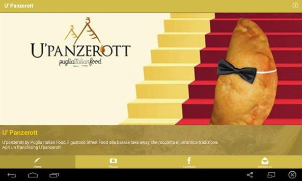 U'Panzerott Franchising screenshot 6
