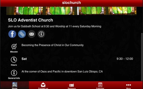 SLO Adventist Church apk screenshot