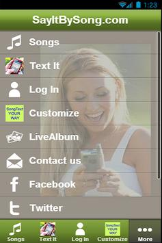 SayItBySong.com apk screenshot