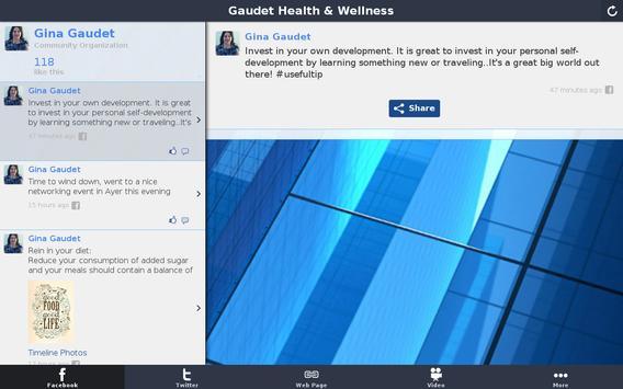 Gaudet Health & Wellness screenshot 3