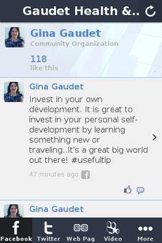 Gaudet Health & Wellness screenshot 1