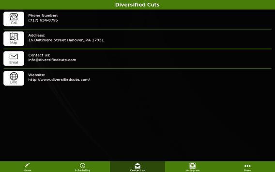 Diversified Cuts Barbershop screenshot 5