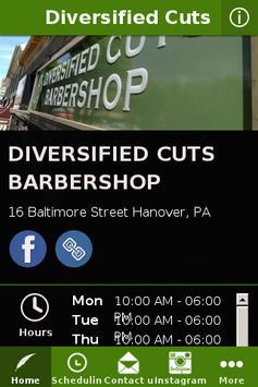 Diversified Cuts Barbershop poster