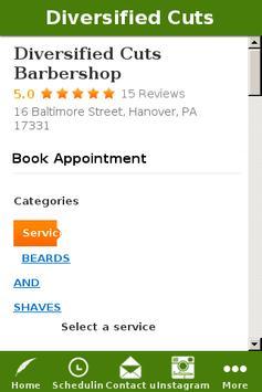 Diversified Cuts Barbershop screenshot 1