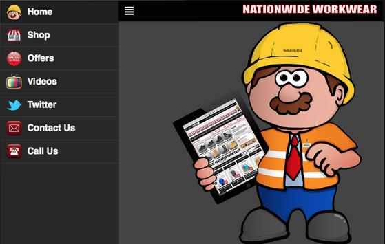 Nationwide Workwear poster