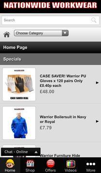 Nationwide Workwear apk screenshot