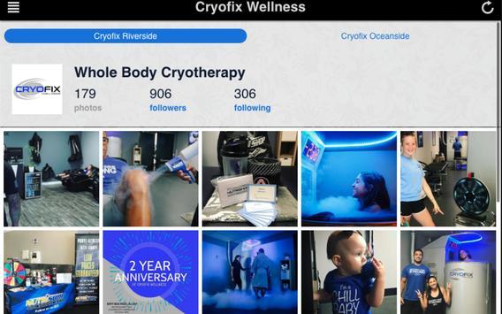 Cryofix Wellness screenshot 3