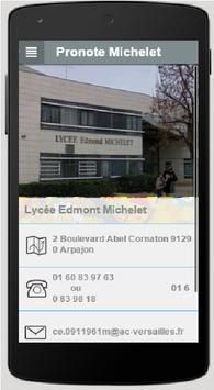 Lycée Edmond Michelet Arpajon screenshot 2