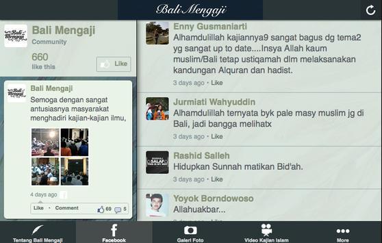 Bali Mengaji apk screenshot