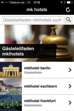mk hotels poster